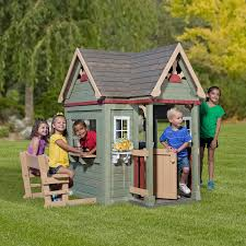 Amazon.com: Backyard Discovery Victorian Inn Cedar Playhouse: Toys ... Outdoor Play Walmartcom Childrens Wooden Playhouse Steveb Interior How To Make Indoor Kids Playhouses Toysrus Timberlake Backyard Discovery Inspiring Exterior Design For With Two View Contemporary Jen Joes Build Cascade Youtube Amazoncom Summer Cottage All Cedar Wood Home Decoration Raising Ducks Goods