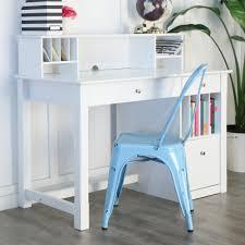 Walker Edison 3 Piece Contemporary Desk by Walker Edison Furniture Company Clara White Desk With Hutch