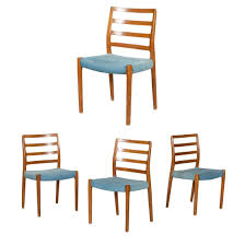 Danish Style Teak Dining Chairs - 4 Mid Century Danish Modern Teak Upholstered Ding Chairs Set Of 6 By Niels Otto Moller For Jl Mller 1950s How To Re Upholster The Backs Midcentury 1960s 8 Kfoed 4 Vintage Midcentury Style Curved Back Walnut Oak Style Ding Chairs 1970s 88233 Fuchsia Chair Dania Fniture Weber Black Shell Seat Details About 2 Wegner Elbow Midcent Finish Solid Wood Frme Picked Amazoncom Glj Fashion Nordic Designer G Plan Solid Teak New Upholstery Mid Century Modern K Larsen Influenced