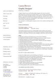 Graphic Designer CV Sample Resume Layout Curriculum Vitae