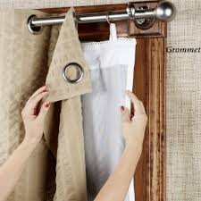Target Double Curtain Rod by Curtain Target Eclipse Curtains Blackout Linen Curtains