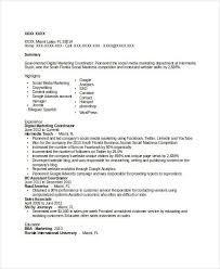 Digital Marketing Coordinator Resume