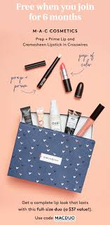 Birchbox Coupon - FREE MAC Prep + Prime Lip & Cremesheen Lipstick With  6-Month Subscription! Makeup Geek Promo Code 2018 Saubhaya Mac Cosmetics Coupons Shopping Deals Codes Canada January 20 50 Off Elf Uk Top Patrick Starrr Dazzleglass Lip Color Various Holiday Bonus 2019 Faqs Beauty Insider Community Theres A Huge Sale With Up To 40 Limededition Birchbox X Christen Dominique Lipstick Review Swatches