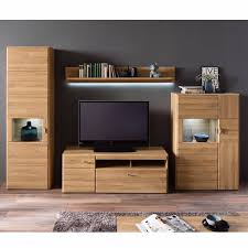 wohnwand ferrol 05 wohnzimmer anbauwand in grandson oak nb optional