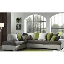 canapé angle tissu canapé d angle gris en tissu sofamobili