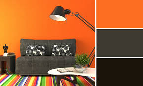 cuisine orange et noir beautiful chambre orange et noir gallery antoniogarcia info