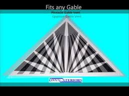 Decorative Gable Vents Products by 39 Best Gable Vents Images On Pinterest Triangles Aluminum