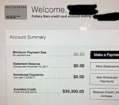 Pottery Barn CLI to $39 3k myFICO Forums