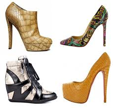 Shoe Trend 2012 Fall Winter Reptile Skin