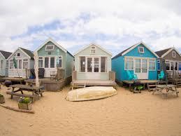 100 Sandbank Houses Bournemouth Mudeford Photo Hangistbury Head Beach
