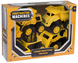 Construction Machines - Construction Trucks Kids Toy