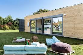 100 Shipping Container House Kit Stylish Shipping Container House Is Topped By A Green Roof