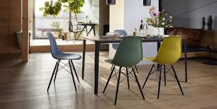 designer esszimmerstühle 4 fuß gestell bei einrichten design