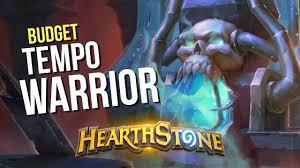 hearthstone budget frozen throne tempo warrior deck guide youtube