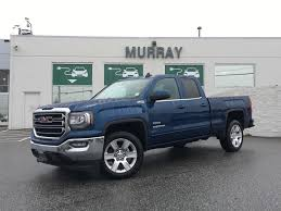 100 4x4 Box Truck Check Out This New Stone Blue MET GMC Sierra Limited 1500 Double