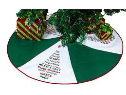 Cheerful Christmas Tree Skirt