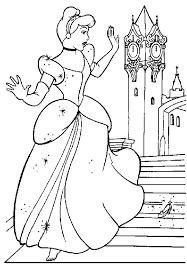 Free Disney Cinderella Coloring Pages