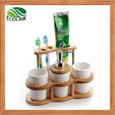 keramik badezimmer set mit bambus stand hersteller china