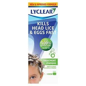 Lyclear Treatment Shampoo with Comb 200ml