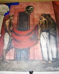 sección mural titulado la basura social de josé clemente orozco