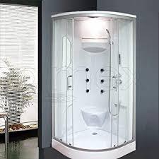 oimexgmbh duschtempel set lorene inkl radio led licht