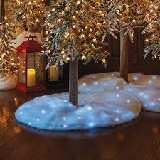 LED Snow Tree Skirt