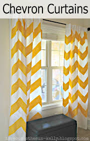 Gold And White Window Curtains by Wall Decor Yellow Chevron Curtains With White Single Hung Window