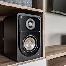 HiFi pact Bookshelf Speaker S15 Polk Touch of Modern