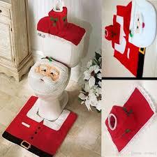 Christmas Red Bathroom Rugs by Toilet Seat Rug Roselawnlutheran
