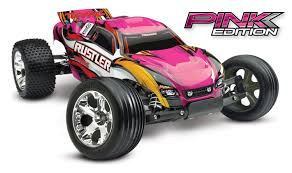 Pink Edition Rustler 1/10 Stadium Truck RTR - TRA37054-1-PINK - Team ...