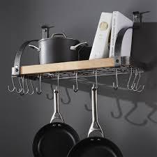 Hanging Pot Rack Ideas MTC Home Design Make A Wall Mount Pot