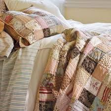 Find more Pottery Barn Nadine Patchwork Quilt for sale at up to 90