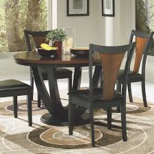 100 Cherry Table And 4 Chairs Amazon Com Coaster Boyer Standard Height Black