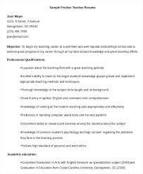 English Teacher Resume Sample Objective Free Word Documents Download Esl Examples