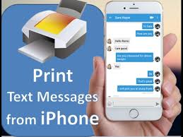 How to Print Text Messages from iPhone 7 7 plus 6 6S 6S Plus 5S