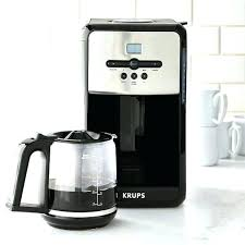 Krups Coffee Maker Instructions Manual Savoy Programmable