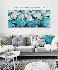 Teal Gold Living Room Ideas by Teal Original Canvas Art Teal And Gold Decor Turquoise Canvas Art