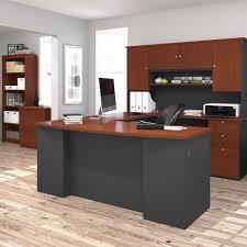 Bestar U Shaped Desks by Bestar Merritt 3 Piece U Shape Workstation