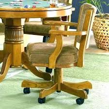 Elegant Rolling Dining Chair Dining Chair Caster Swivel Dining