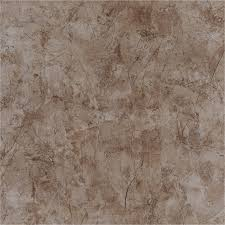 shop style selections brown ceramic marble floor tile common 17