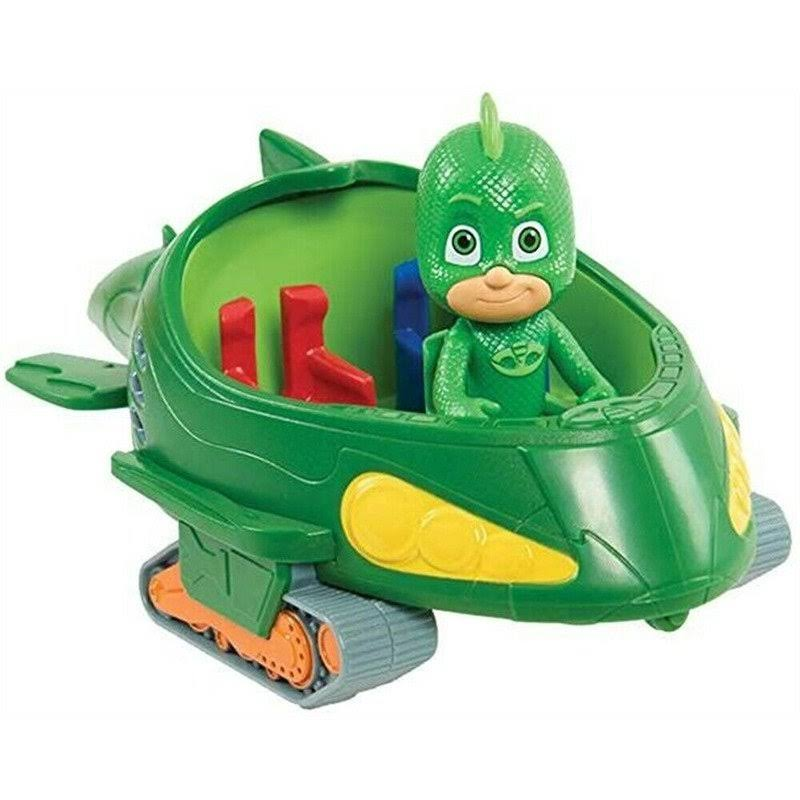 PJ Masks Gekko Figure and Vehicle