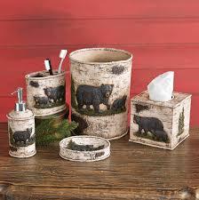 Zebra Print Bathroom Accessories Canada by Black Bear Decor U0026 Bear Gifts Black Forest Decor