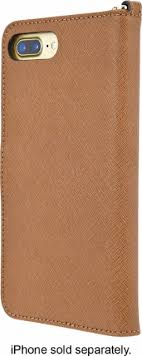 Michael Kors Folio Case for Apple iPhone 7 Plus Brown BBR