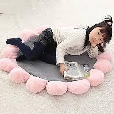 teppich pink grey walmics boden sitzkissen wohnzimmer