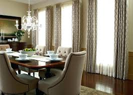 Modern Dining Room Curtains Drapes Formal Ideas Blinds