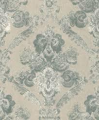 casa padrino barock textiltapete beige grün weiß 10 05 x 0 53 m wohnzimmer deko accessoires