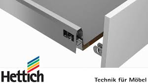 arcitech schubkastensystem bau montage und verstellung schubkasten und frontauszü