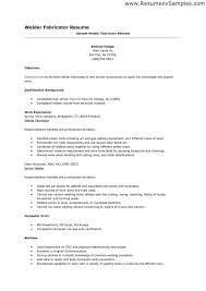Good Welder Resume Examples We Have A Great Deal Of For Aiding You In Producing An Excellent As To Run