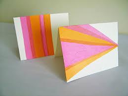 DIY Tissue Paper Cards