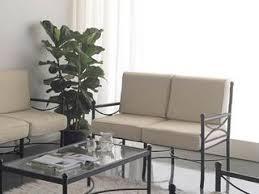 canapé en fer forgé canapé 3 places nilo en fer forgé haut de gamme meuble de salon